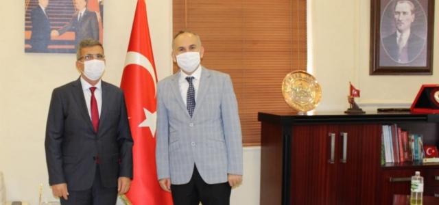 Başkan Müsevitoğlu'dan Kaymakam Yönden'e Ziyaret