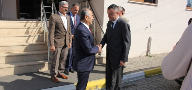 Başkan Nazım Culha'dan Veda Ziyareti