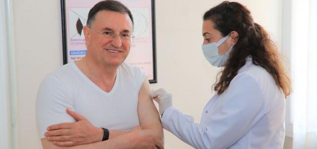 Başkan Savaş İkinci Doz Aşıyı Yaptırdı