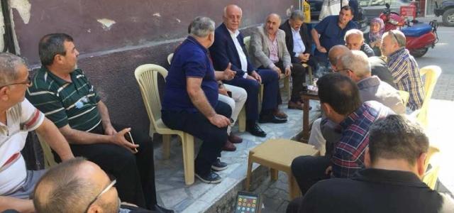 Başkan Seyfi Dingil, Halkı ve Esnafı Dinledi