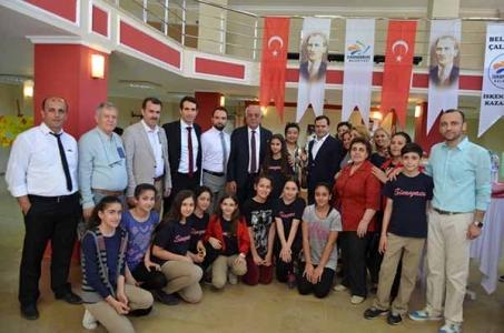 Başkan Seyfi Dingil Sergi Açılışı Yaptı