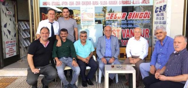 Başkan Seyfi Dingil'den Otogar Esnafına Ziyaret