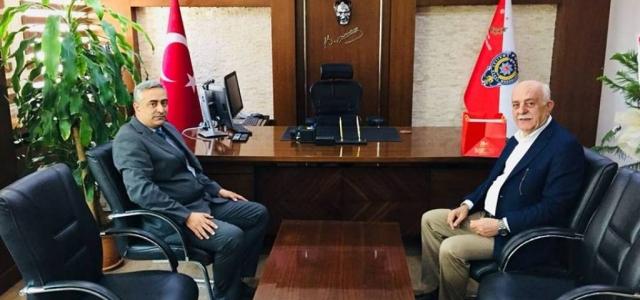 Başkan Seyfi Dingil'den Yeni Emniyet Müdürü'ne Ziyaret