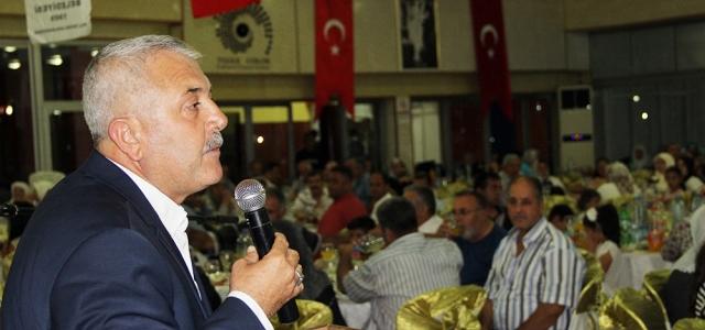 Başkan Toksoy Şehit ve Gazi Aileleri ile İftarda Buluştu