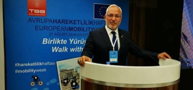 Başkan Tosyalı, Avrupa Hareketlilik Haftası Toplantısına Katıldı