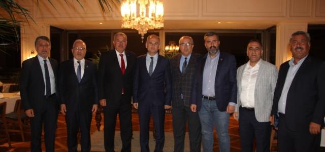 Başkan Tosyalı, Belediye Başkanlarını Ağırladı