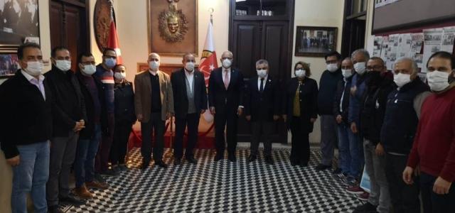 Başkan Tosyalı Çalışan Gazeteciler Günü'nü Kutladı