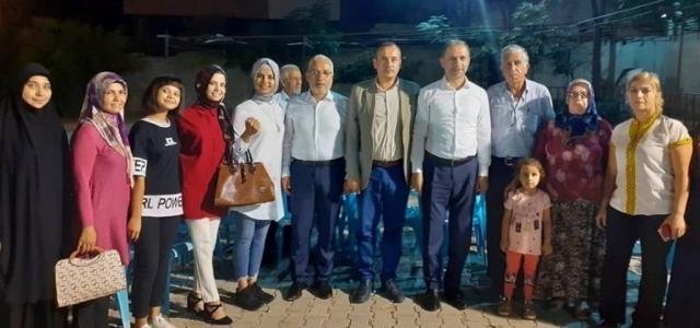 Başkan Tosyalı, Cırtıman'da Vatandaşlarla Buluştu