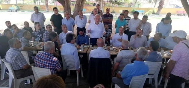 Başkan Tosyalı Denizciler 'de Vatandaşlarla Buluştu
