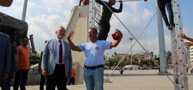 Başkan Tosyalı, Sahildeki Çalışmaları İnceledi