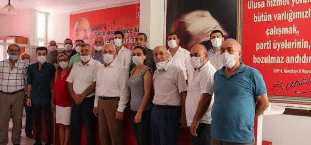 Başkan Tosyalı'dan CHP İlçe Teşkilatına Ziyaret