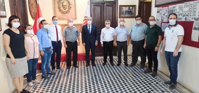Başkan Tosyalı'dan İGC'ye Ziyaret