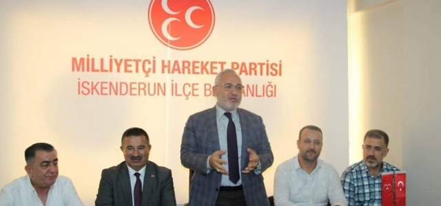 Başkan Tosyalı'dan MHP ve Ülkü Ocaklarına Ziyaret
