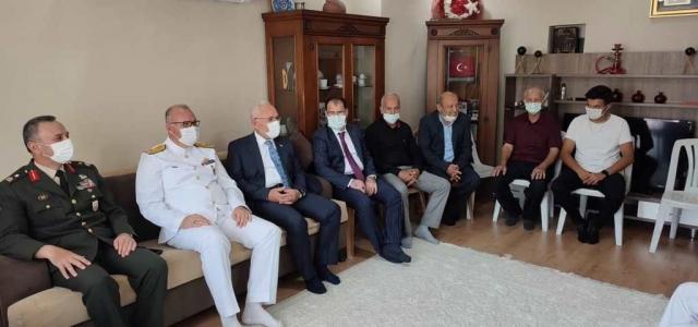 Başkan Tosyalı'dan Şehit ve Gazi Ailelerine Ziyaret
