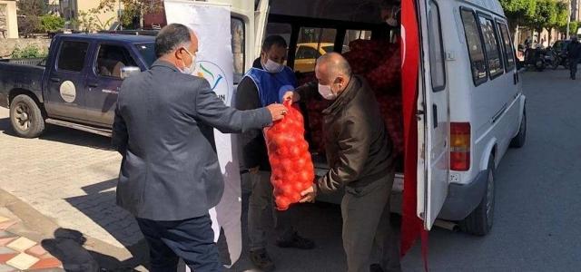 Başkan Tosyalı:Sosyal Yardımlarımız Devam Ediyor