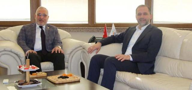 Başkan Tosyalı'ya 'Özel' Ziyaret