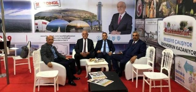 Başkentte İskenderun Standı Ziyaretçi Akınına Uğruyor