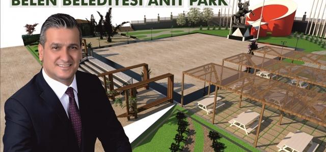 'Belen Atatürk Parkını Yeniliyoruz'