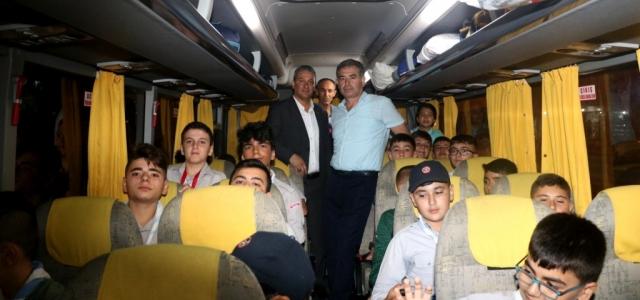 Belen İzcileri İstanbul Yolunda