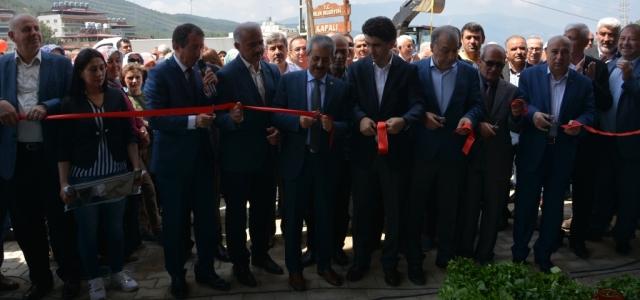 Belen Kapalı Köy Pazarı Törenle Açıldı