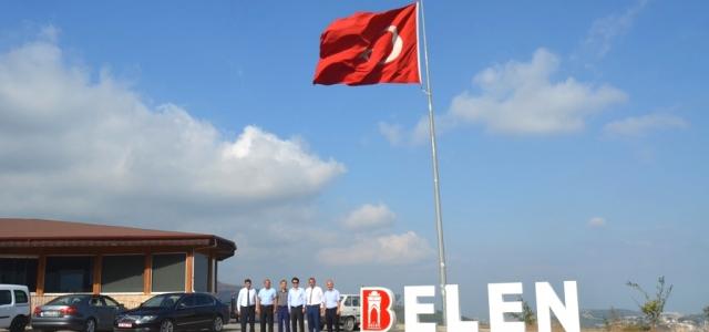 'BELEN' Yazısı Türk Bayrağıyla İle Bütünleştirildi.