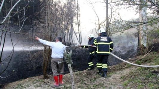 Belen'de Orman Yangını çıktı