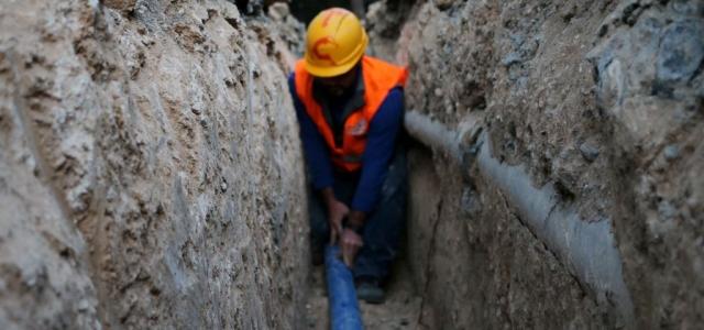 Belen'e Yeni Şebekeden Su Verilmeye Başlandı