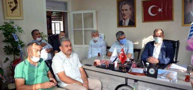 Bezge'li Vatandaşlardan Güven Veren Ziyaret