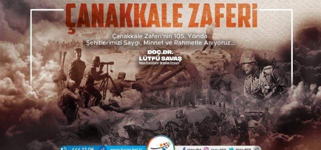 'Çanakkale Zaferi, Türk Milleti için Gurur Abidesidir'