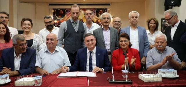 Cemevi Protokolü İmzalandı