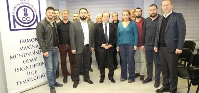 CHP Adayı Şahutoğlu STK Ziyaretlerini Sürdürüyor