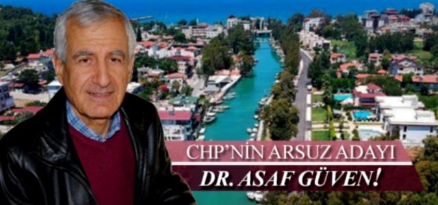 CHP Arsuz Adayı Dr. Asaf Güven Oldu