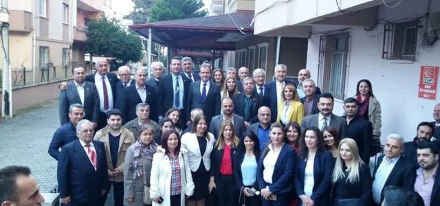 CHP Arsuz Teşkilatı Başkanları Ağırladı