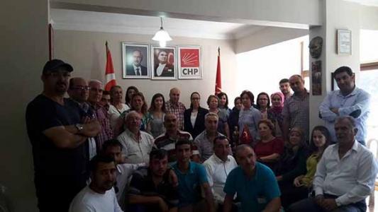 CHP Belen İlçe Başkanlığı Basın toplantısı düzenledi