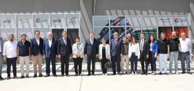 CHP Genel Sekreteri Böke'den Hatay Ziyareti