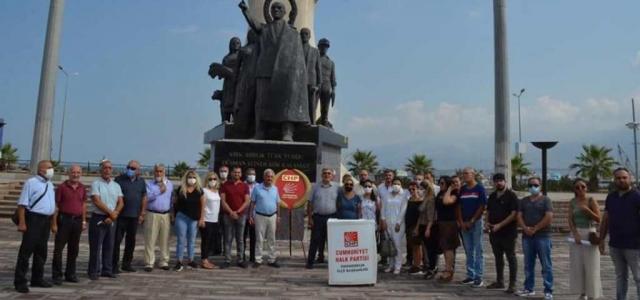 CHP İlçe Teşkilatından 98. Yıl Kutlaması