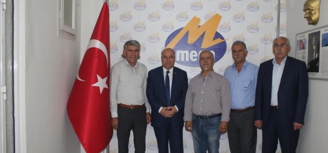 CHP Milletvekili Aday Adayı Yüksel'den Mega'ya Ziyaret