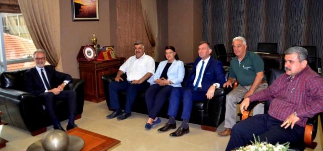 CHP Milletvekili Adaylarından İTSO'ya Ziyaret