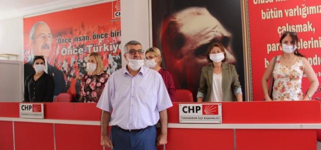 CHP'li Kadınlar Kadın Cinayetlerine Savaş Açtı