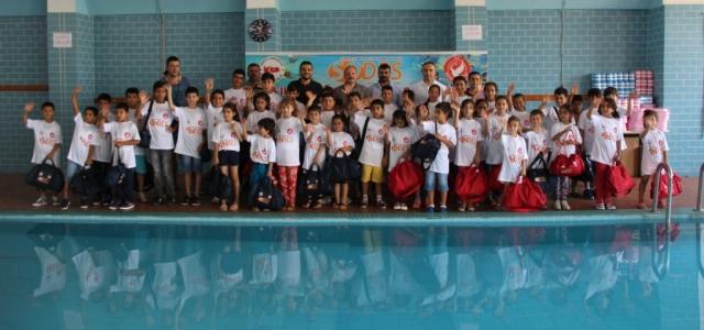 Çocuklar SODES ile Yüzecekler