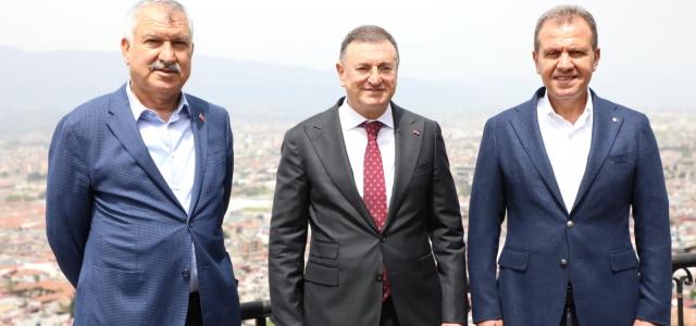 Çukurova'nın Başkanları Hatay'da Buluştu