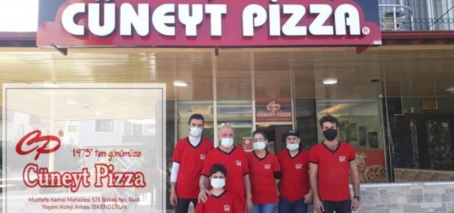 'Cüneyt Pizza' Yeni Yerinde Hizmete Devam ediyor!
