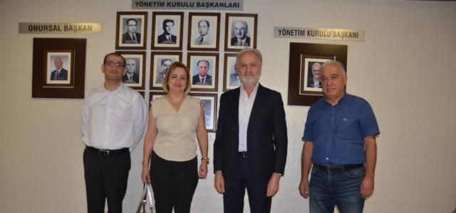 DASİFED Başkanı Gül'den İTSO'ya Ziyaret