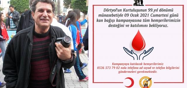 DGC'den 9 Ocak'a Özel Kan Bağışı Kampanyası