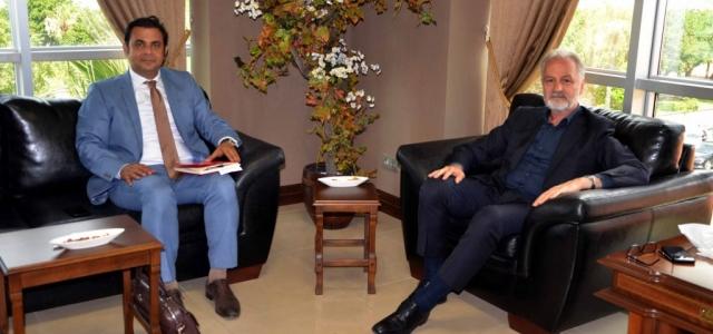 DOĞAKA Genel Sekreteri Yıldız'dan İTSO'ya Ziyaret