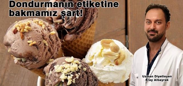 Dondurma Sağlığınızı Bozmasın!