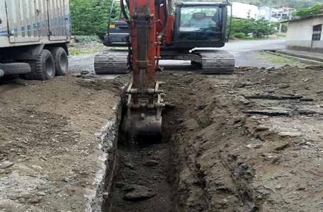 Dörtyol'a Yeni Kanalizasyon Hattı Döşendi