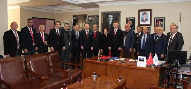 DTO'dan Başkan Seyfi Dingil'e Ziyaret