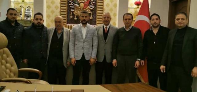 Eczane Teknisyenlerinden Gökhan Zeybek'e Ziyaret