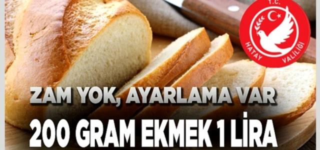Ekmeğe Zam Yok, Ayarlama Var!